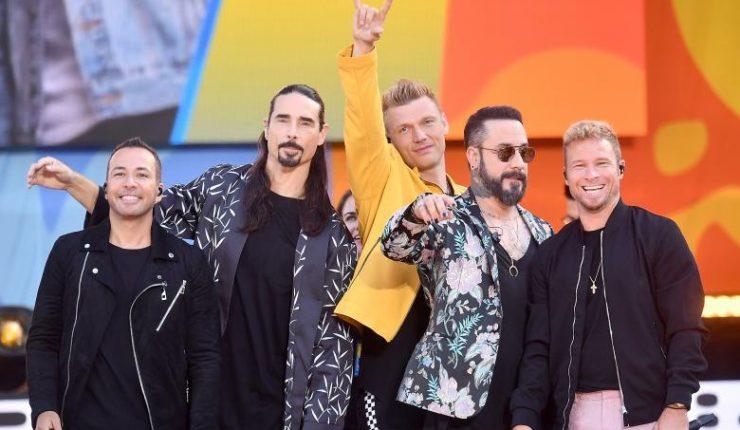Presentación de Backstreet Boys marca récord histórico en Festival Viña del Mar