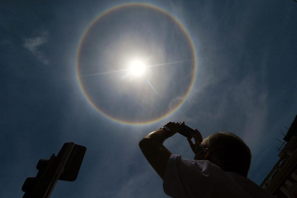 Que Es Un Halo Solar Y Por Que Se Produce