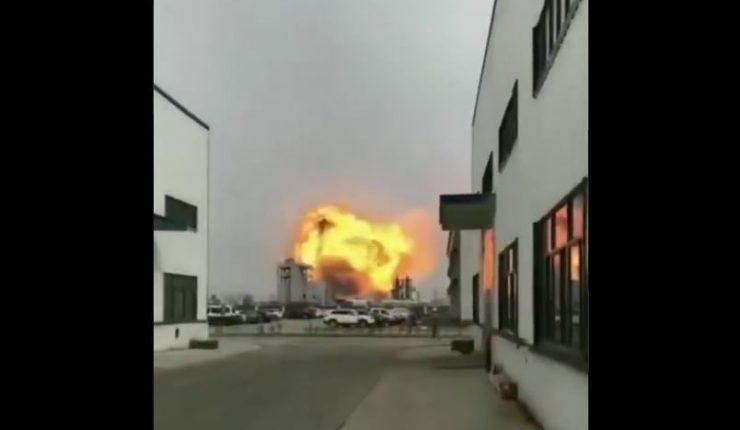 Tragedia en China: Explosión de planta química mata a seis