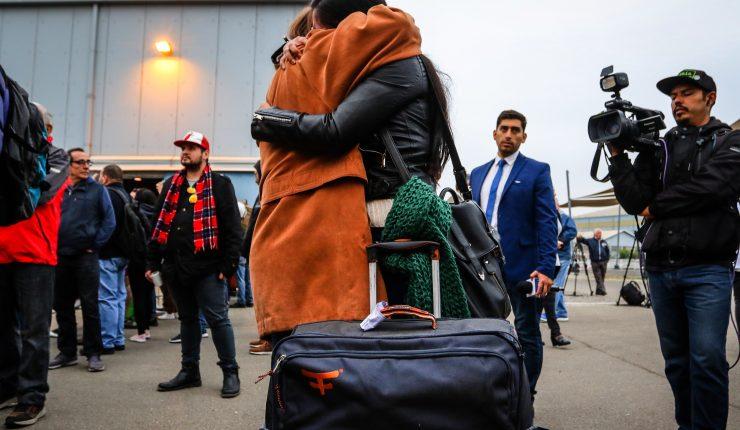 Llegaron a Santiago 148 chilenos que pidieron dejar Venezuela