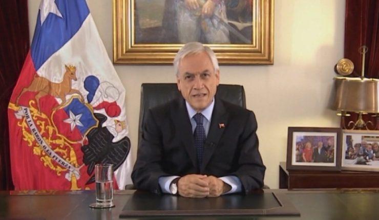 Piñera lanzó plan antidrogas enfocado en los niños y adolescentes