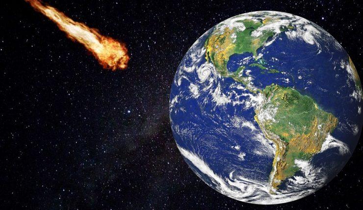 La NASA advierte sobre una gran colisión de asteroides sobre la Tierra