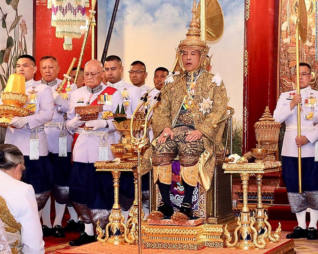 Maha Vajiralongkorn Bodindradebayavarangkun Se Coronó Rey