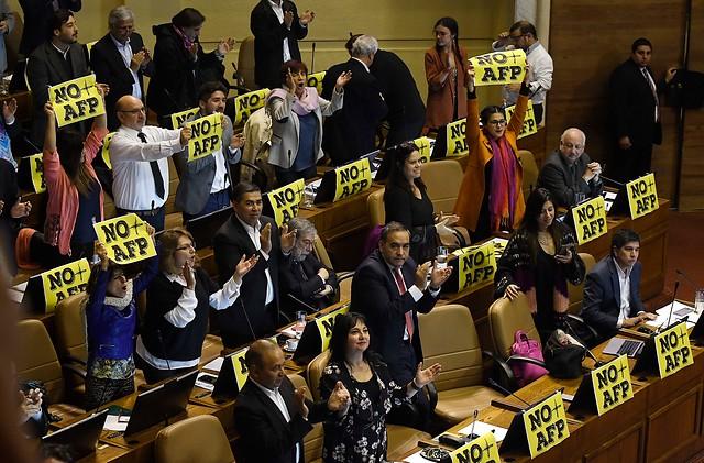 Cámara de Diputados apruebe la idea de legislar la Reforma a las Pensiones