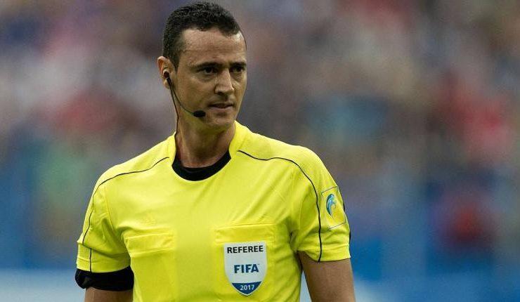 Wilmar Roldán será el árbitro del duelo entre Chile y Perú