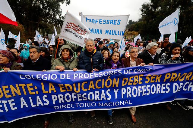 509c8099d38e Profesores rechazan propuesta del Gobierno y van por la tercera ...