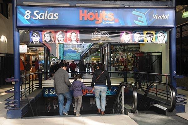 Hoyts San Agustín del centro de Santiago anuncia su cierre