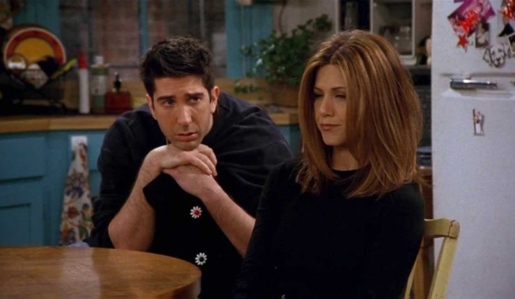 """Ross y Rachel: Cuando """"Friends"""" hizo pasar una obsesión como una historia  de amor"""