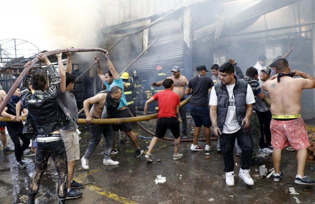 350 hechos violentos se registraron la noche del domingo