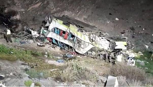 Accidente de autobús en el norte de Chile deja 20 muertos