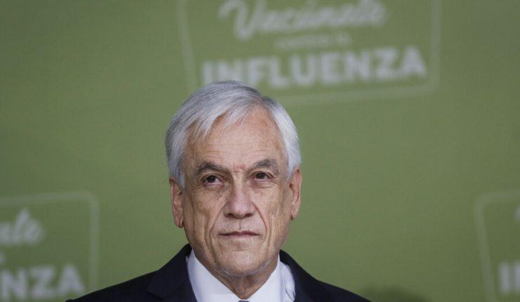 Piñera tiene 7% de aprobación en Data Influye y 50% no ha recibido ayudas