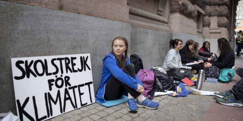Resultado de imagen para greta thunberg  16 años